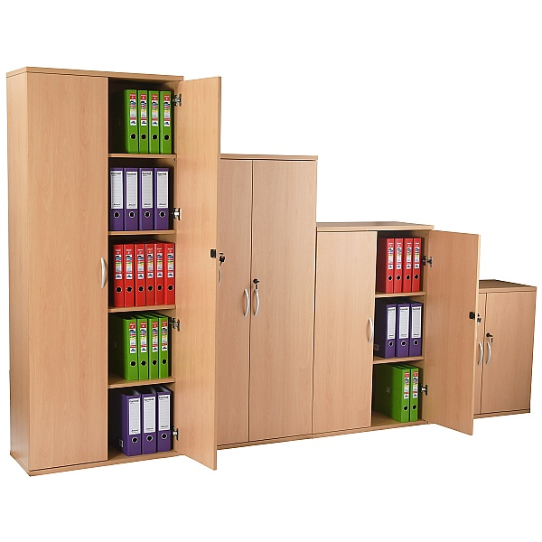 NEXT DAY Karbon Wooden Office Cupboards