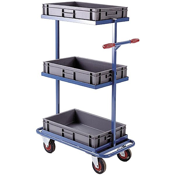 Euro Container Stock Trolley