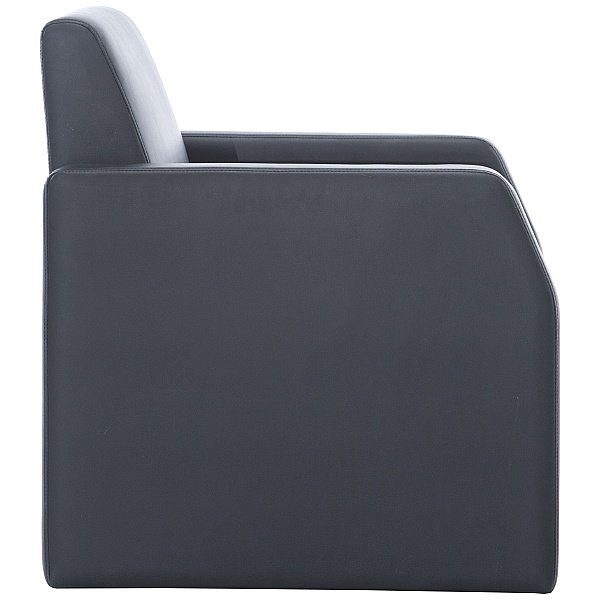 Rest Bonded Leather Single Seater Armchair