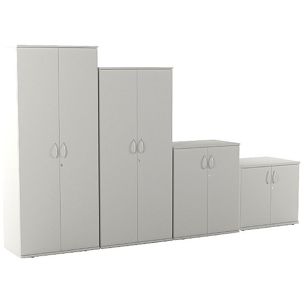 Vogue Essential White Office Cupboards