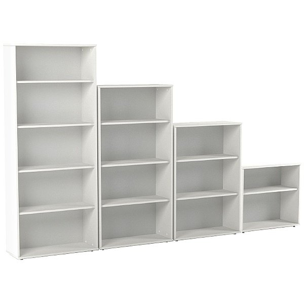 Vogue Essential White Office Bookcases