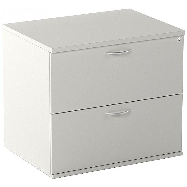 NEXT DAY Vogue Essential White Desk High Side Filer