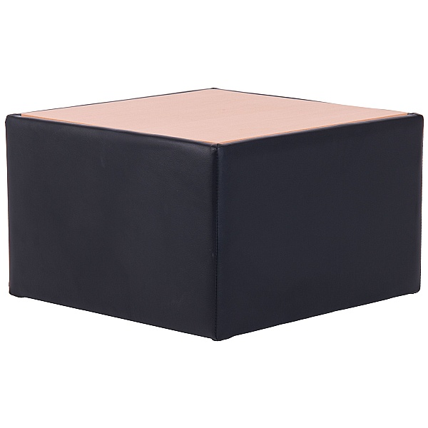 Rest Bonded Leather Coffee Table