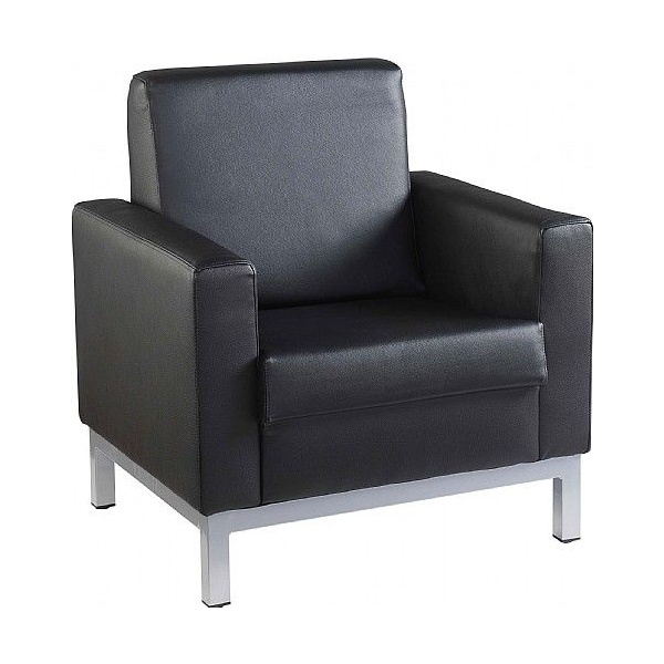 NEXT DAY Westbridge Leather Faced Armchair