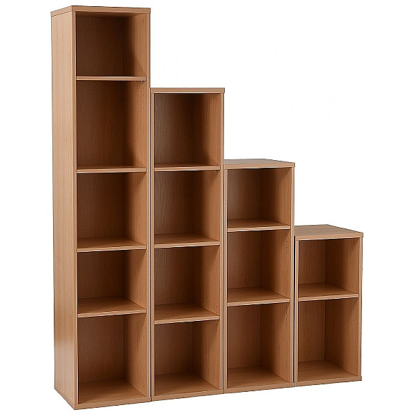 NEXT DAY Karbon Narrow Bookcases