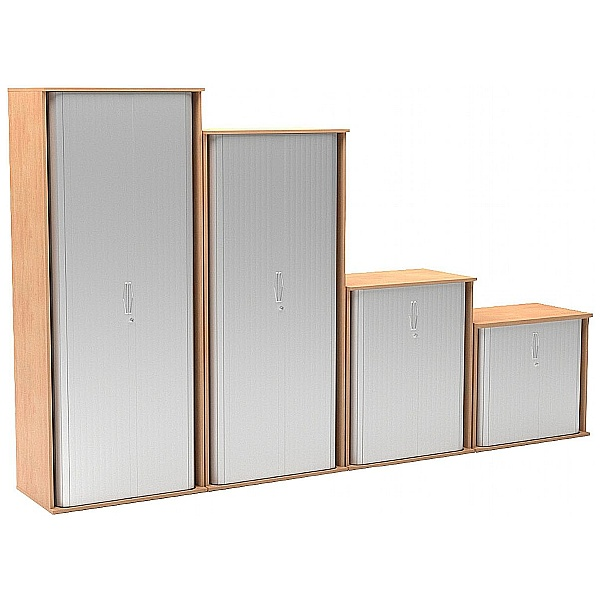 NEXT DAY Solar Essential Tambour Cupboards