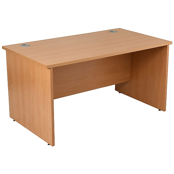 NEXT DAY Karbon K2 Rectangular Panel End Office Desks