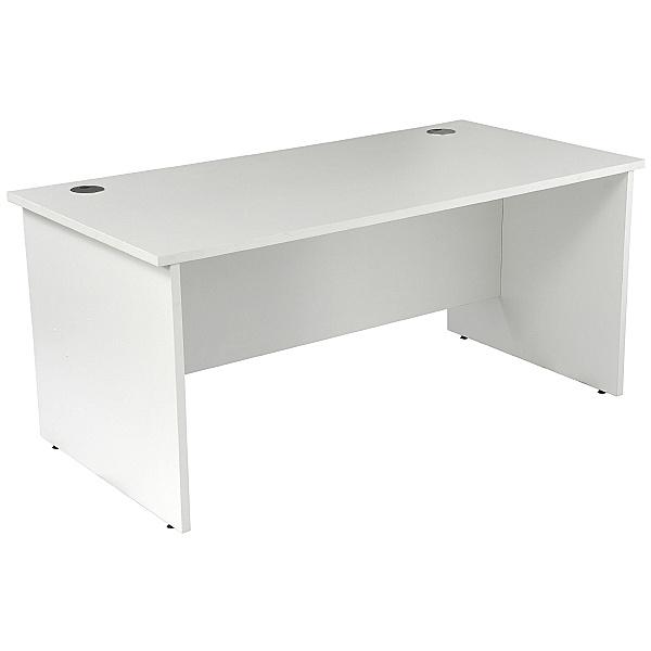NEXT DAY Karbon K2 Rectangular Panel End Office Desks