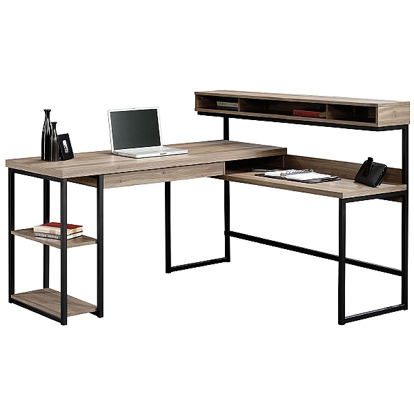 Streamline L-Shaped Computer Desk