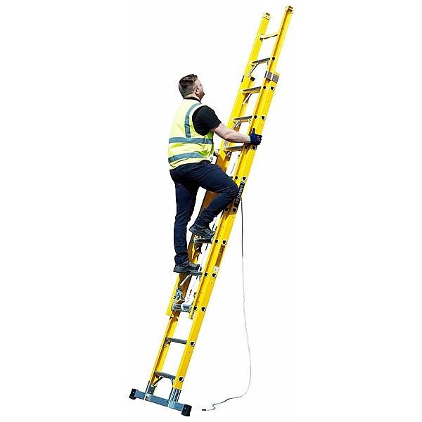 Fibreglass Extension Ladders