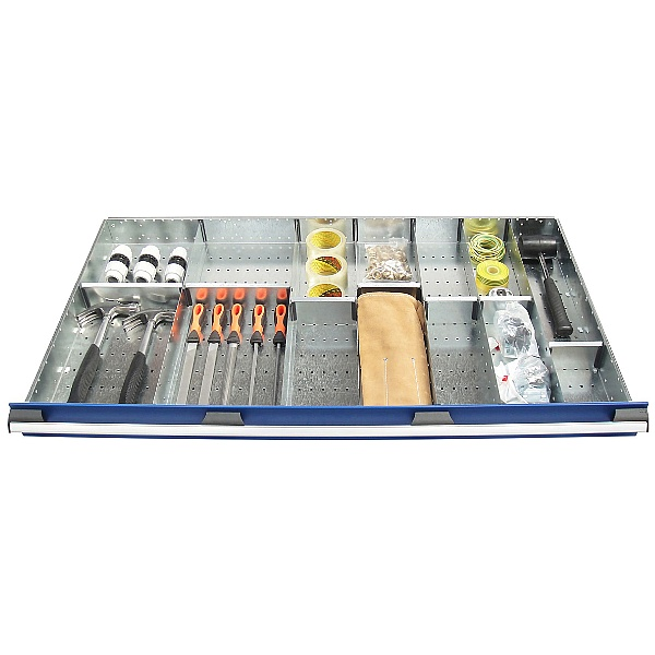 Bott Cubio Drawer Cabinets 1300W x 750D Metal Dividers