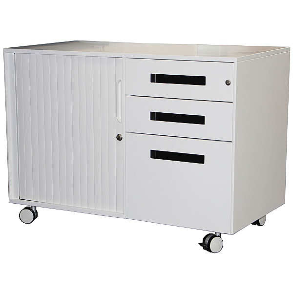Prism Steel Mobile Pedestal and Tambour Unit