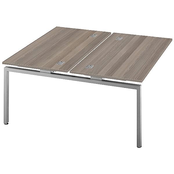 Commerce II Double Add On Bench Desks