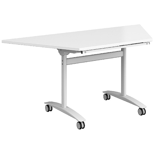 NEXT DAY Unite Plus Trapezoidal Flip Top Table