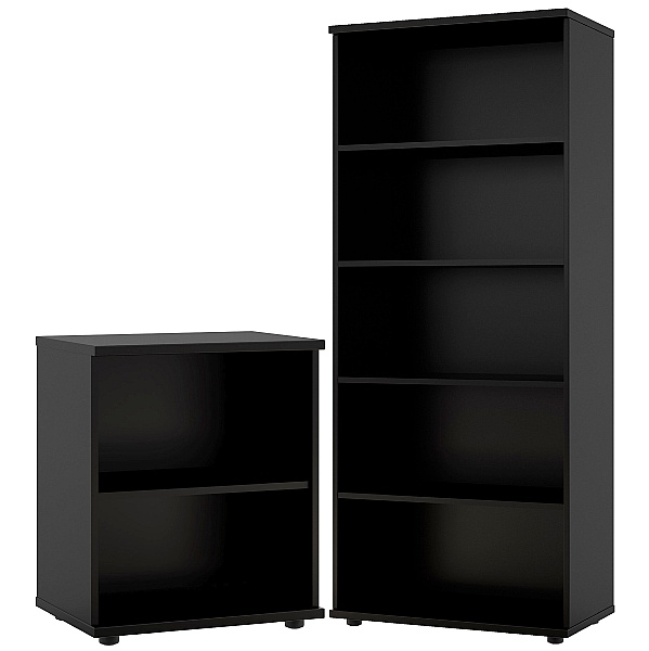 Noir Office Bookcases