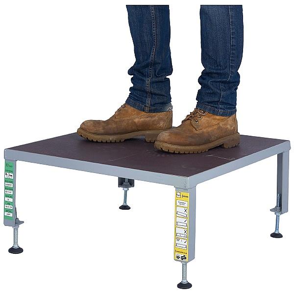 Fort Adjustable Steel Work Platform