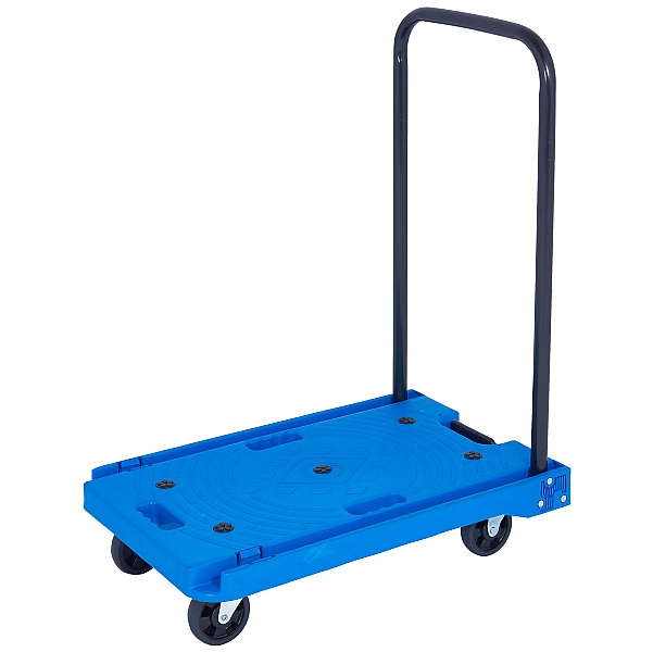 Plastic Platform Trolley with Folding Handle