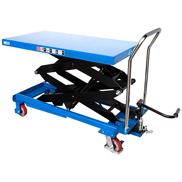 Vulcan Double Scissor Lift Tables
