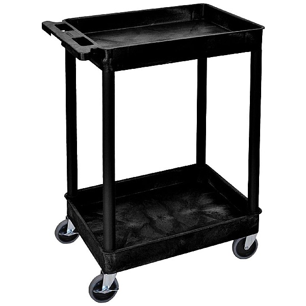 Super Strength Plastic Service Tray Trolleys