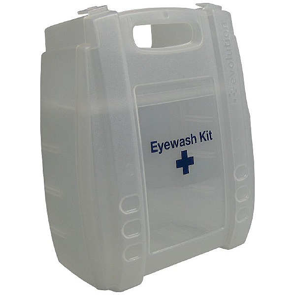 Clear Eyewash & First Aid Cases - Empty