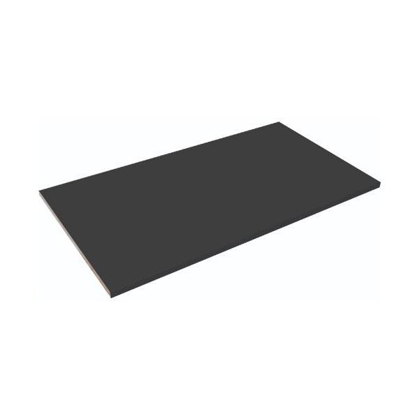NEXT DAY Noir Steel Shelf For Tambour Cupboards