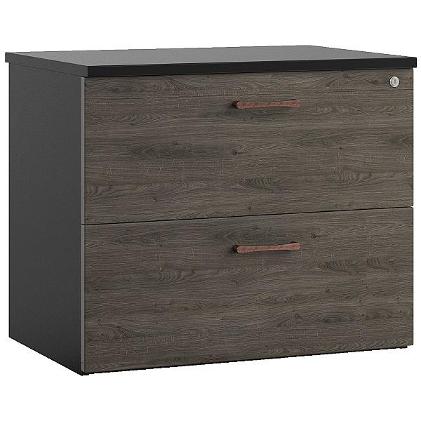 Noir Side Filing Cabinet