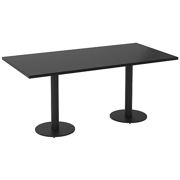 NEXT DAY Noir Rectangular Meeting Table