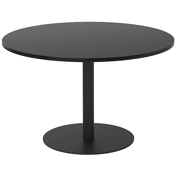 NEXT DAY Noir Round Dining Table