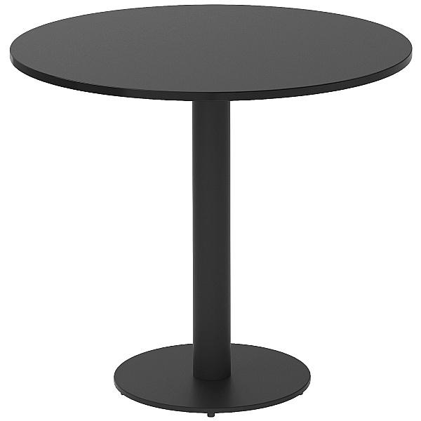 NEXT DAY Noir Round Bistro Table