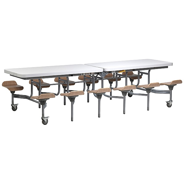 12 Seat Primo Mobile Folding Dining Unit