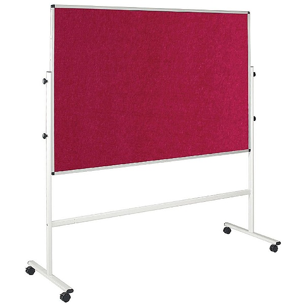 Resist-a-Flame Eco-Colour Double Sided Mobile Noticeboards