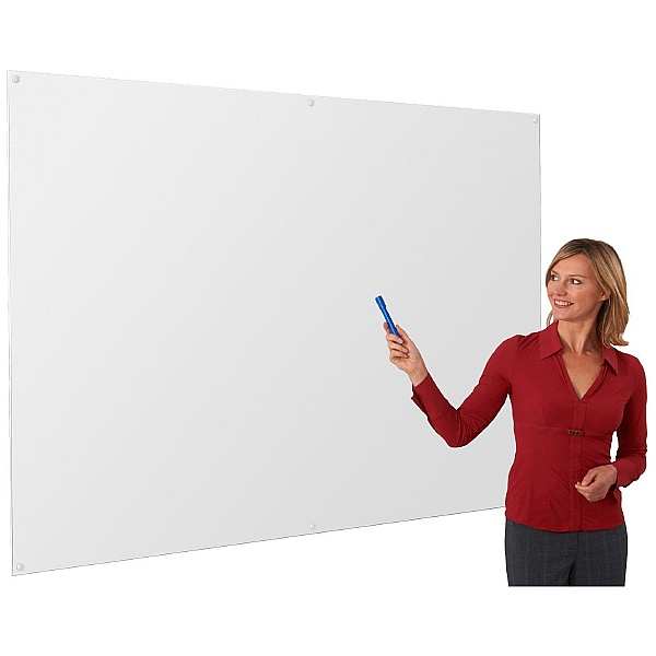 Write-On Non-Magnetic Whiteboard Wall