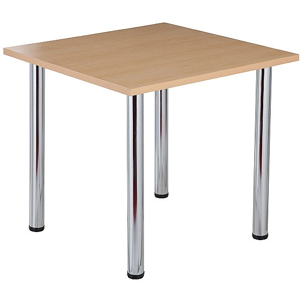 NEXT DAY Karbon Tubular Leg Square Office Tables