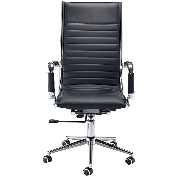 Bari Leather Faced Manager Chair