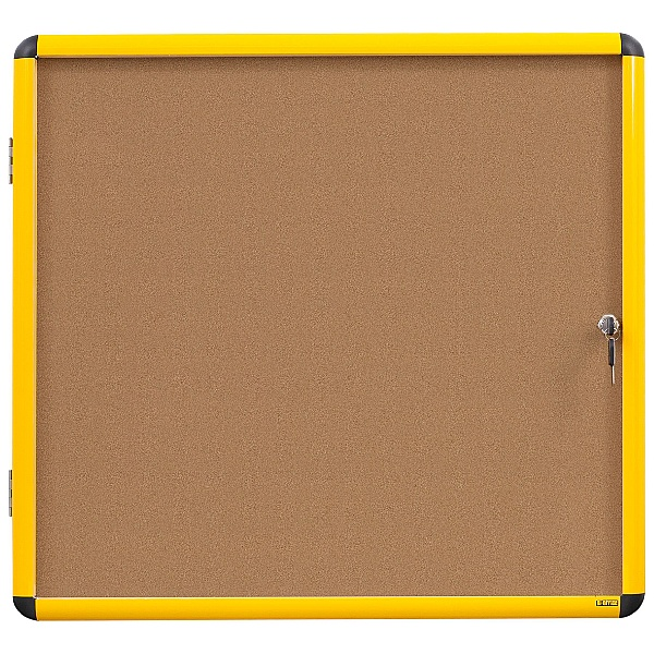 Bi-Office Industrial Ultrabrite Tamperproof Cork Noticeboard