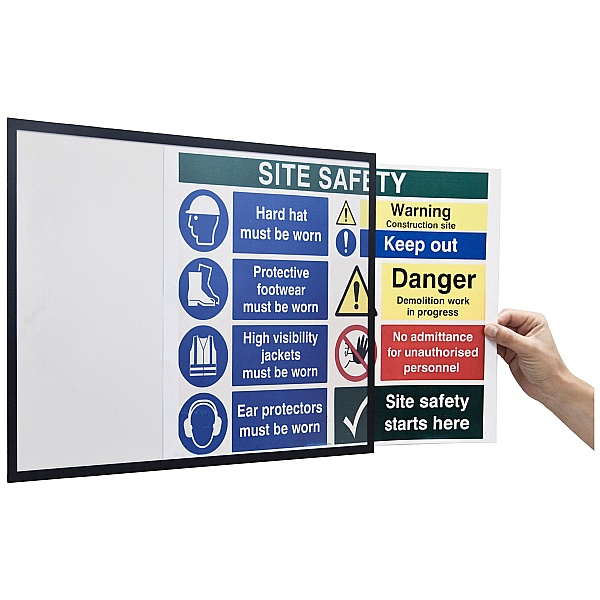 Bi-Office Magnetic Sign Holders