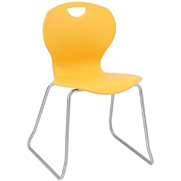 Evo Polypropylene Skid Base Classroom Chairs