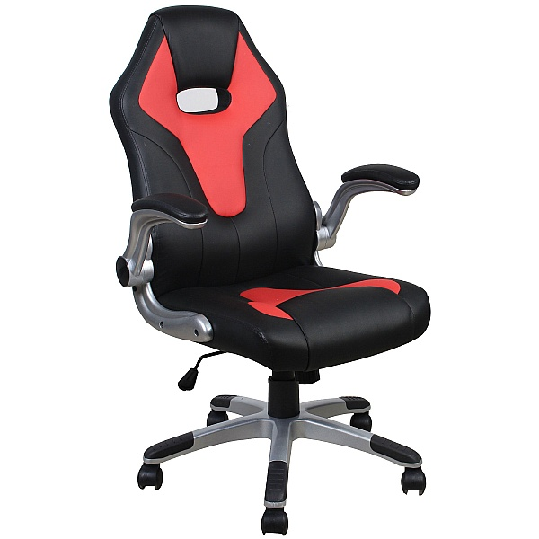 Moto Faux Leather Office Chair