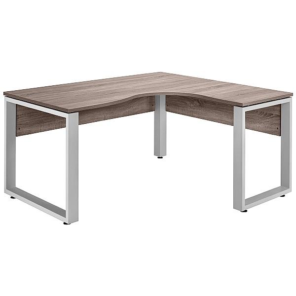 Venture in Harmony Ergonomic Square Frame Desks