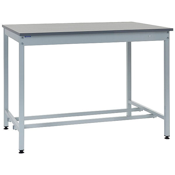 Express Square Tube Workbenches - Laminate Worktop
