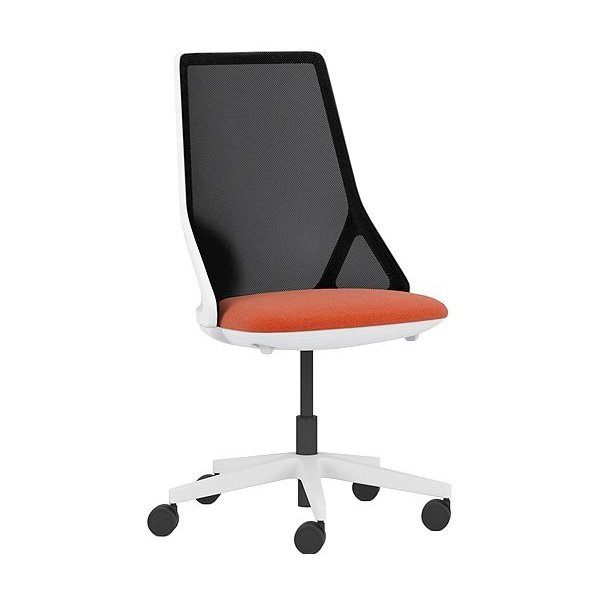 Pledge Cicero High Back White Task Chair