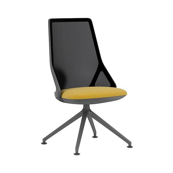 Pledge Cicero High Back Black Conference Chair