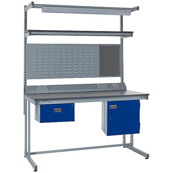 Express Cantilever Workbench Bundle 1 - Laminate Worktop