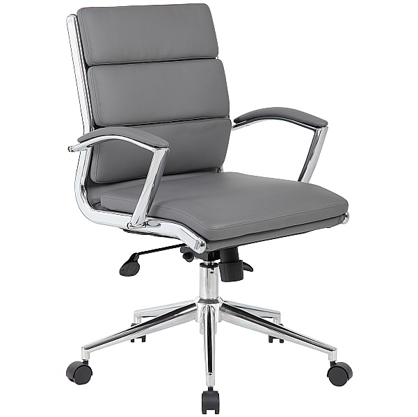 Venice Medium Back Executive Bonded Leather Manager Chair