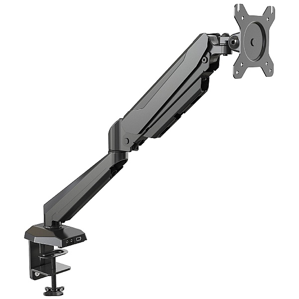 NEXT DAY Karbon G1 Black Single Monitor Arm