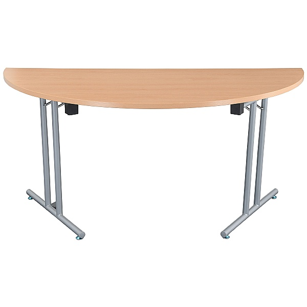 NEXT DAY Karbon Semi Circular Folding Tables
