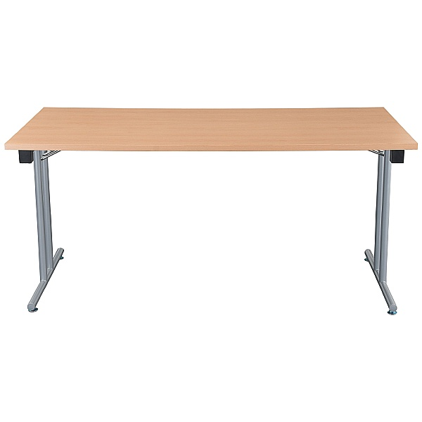 NEXT DAY Karbon Rectangular Folding Tables