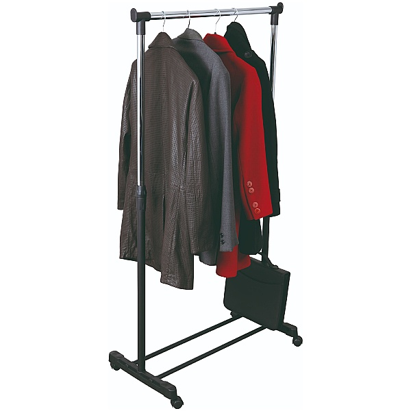 Height Adjustable Coat Rail