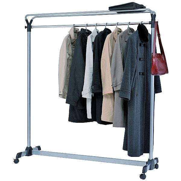 High Capacity Coat Rail