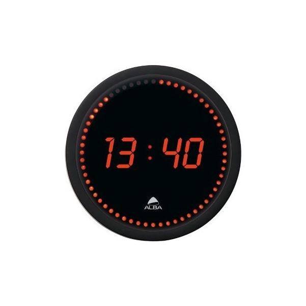 Alba Round LED Wall Clock